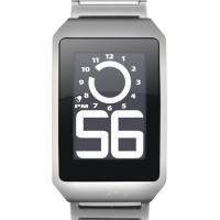 Часы Phosphor e-ink, стальной браслет
